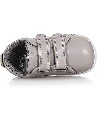Bobux Step-Up Grass Court, Grey - Ultra flexible, perfect for first steps! Shoes