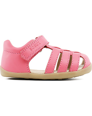 Bobux Step-Up Jump Sandal, Coral – Ultra flexible, perfect for first steps! Shoes