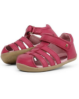 Bobux Step-Up Jump Sandal, Dark Pink – Ultra flexible, perfect for first steps! Shoes