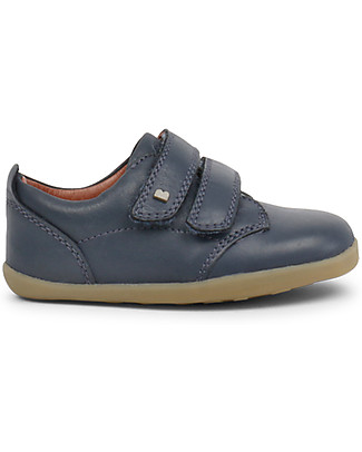 Bobux Step-Up Port Shoe, Navy - Ultra flexible, perfect for first steps! Shoes