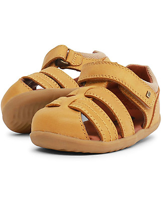 Bobux Step-Up Roam Sandal, Charcoal - Ultra flexible, perfect for first steps! Shoes