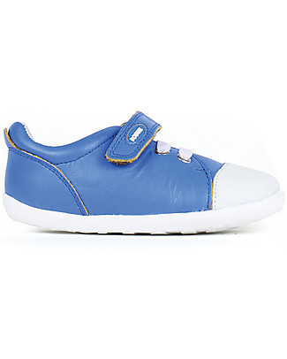 Bobux Step-Up Scribble Shoe, Blue – Ultra flexible, perfect for first steps! Shoes