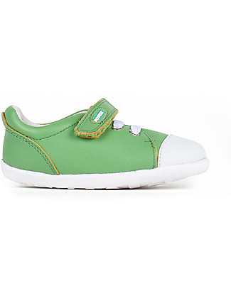 Bobux Step-Up Scribble Shoe, Green – Ultra flexible, perfect for first steps! Shoes