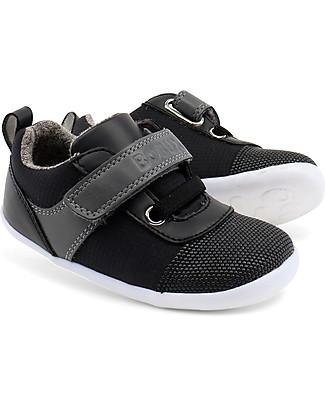 Bobux Step-Up Street Edge, Black - Ultra flexible, perfect for first steps! Shoes