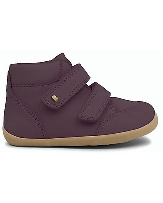 Bobux Step-Up Timber Boot, Plum – Comfort for first steps! Shoes
