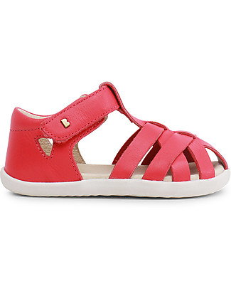 Bobux Step-Up Tropicana Sandal, Watermelon - Ultra flexible, perfect for first steps! Shoes