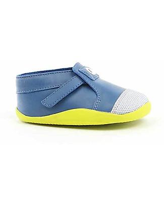 Bobux Step-Up Xplorer Origin, Printed Cobalt/Citrus - Super flexible, ideal for outdoors Shoes