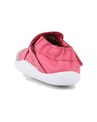 Bobux Step-Up Xplorer Origin, Printed Fuchsia/White - Super flexible, ideal for outdoors Shoes