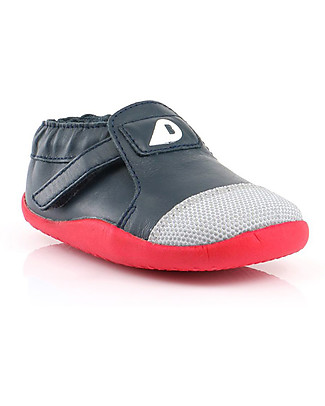 Bobux Step-Up Xplorer Origin, Printed Navy/Red - Super flexible, ideal for outdoors Shoes