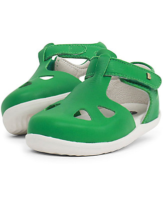 Bobux Step-Up Zap Sandal, Emerald – Ultra flexible, perfect for first steps! Shoes