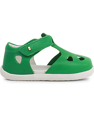 Bobux Step-Up Zap Sandal, Emerald - Ultra flexible, perfect for first steps! Shoes