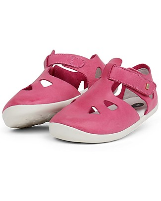 Bobux Step-Up Zap Sandal, Pink – Ultra flexible, perfect for first steps! Shoes
