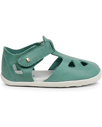 Bobux Step-Up Zap Sandal, Teal – Ultra flexible, perfect for first steps! Shoes