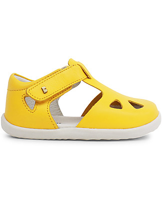 Bobux Step-Up Zap Sandal, Yellow - Ultra flexible, perfect for first steps! Shoes