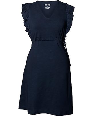 Boob Alicia, Maternity and Nursing Dress, Midnight Blue - 100% Organic Cotton Dresses