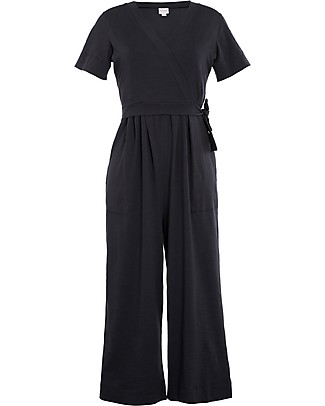 Boob Amelia Maternity and Nursing Jumpsuit, Black - Organic Cotton Special Occasion