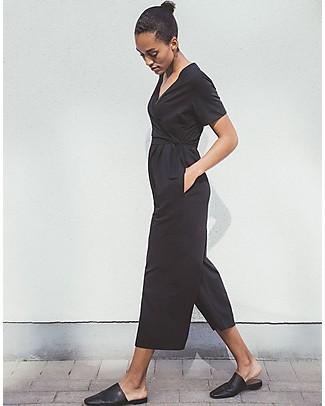 Boob Amelia Maternity and Nursing Jumpsuit, Black - Organic Cotton Special Occasion