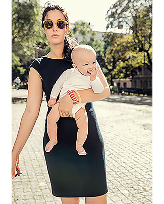 Boob Audrey, Maternity and Nursing Dress, Black – Soft eucalyptus fibre Dresses