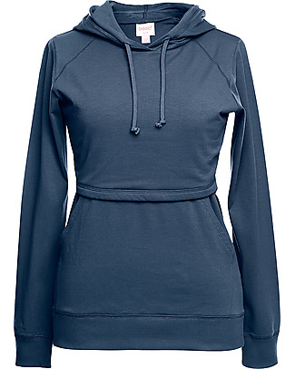 Boob B.warmer Maternity and Nursing Hooded Sweatshirt, Saragasso - Ultra-soft fleece lining! Sweatshirts