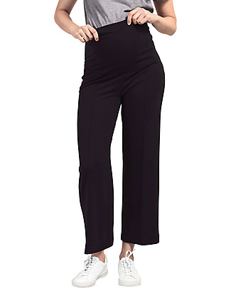 Boob Cropped Pants, One On Never Off, Black - Eucalyptus Fibre  Trousers
