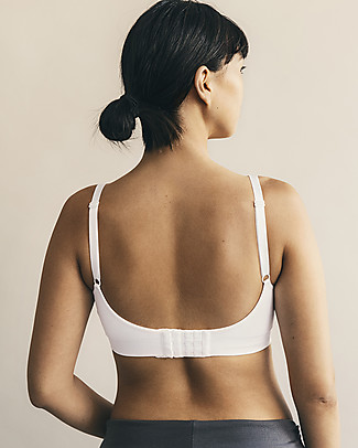 Boob Fast Food Classic Nursing Bra, White - Sustainable choice! Bras