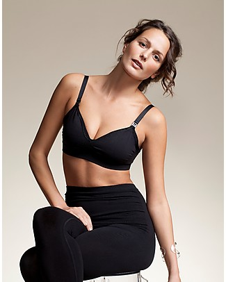Boob Fast Food Nursing Bra - Black Bras