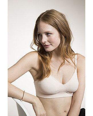 Boob Fast Food Seamless Nursing Bra - Powder Bras