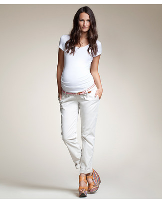 Boob Maternity 'Chinos' Trousers - Black or Khaki Trousers