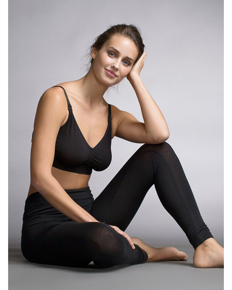 Black boob model