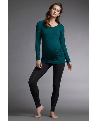 Boob Maternity Leggings - Black - New Model! (In soft eucalyptus fabric!) Leggings