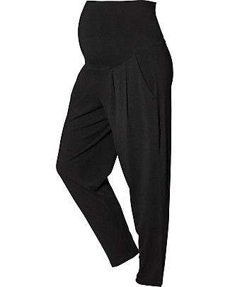 Boob Maternity Once on Never Off Harem Pants, Black - Soft eucalyptus fabric Trousers
