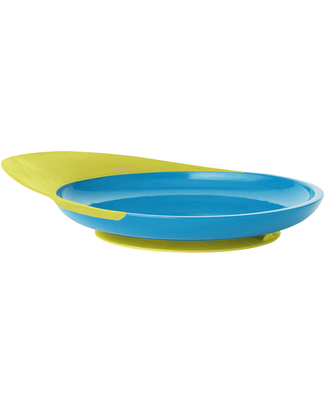 Boon Inc. CATCH Toddler Plate - Blue & Green (free from BPA, PVC and Phthalates)! Bowls & Plates