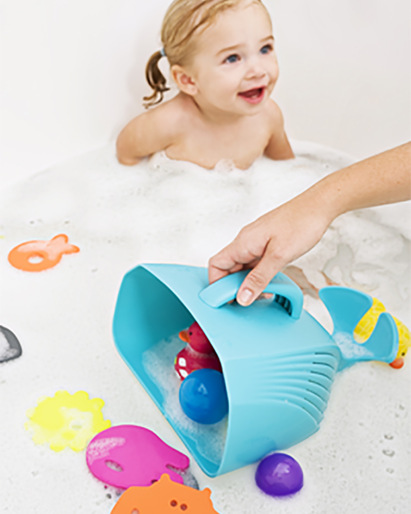 Boon Inc. FROG POD Bath Toy Container - Green (free of BPA, PVC and ...