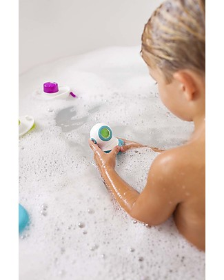 Boon Inc. MARCO Bath Toy Set - Color-Changing Light Activated by Water! null