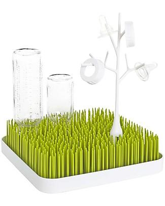 Boon Inc. TWIG Grass Accessory - Bianco (senza BPA, PVC e Ftalati!) Drying Racks
