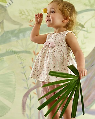 Botanica Boo Baby Bloomer, Pink - 100% cotton Shorts