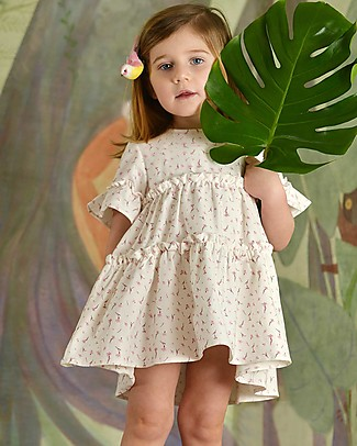 Botanica Boo Flowers Dress - Organic Cotton Special Occasion