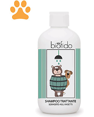 Bubble&CO Animal Shampoo Biofido, 250 ml - Purifying and Protective Shampoo and Conditioner