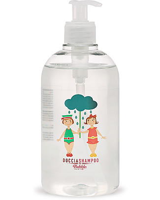 Bubble&CO Baby Shower and Shampoo, 500 ml - Ideal for sensitive skin! Baby Bath Wash and shampoo