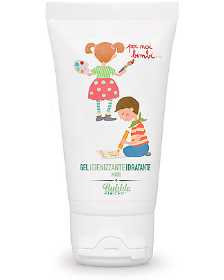 Bubble&CO Hand Sanitiser and Moisturiser, Kids, 50 ml – Ideal for delicate skin! Shampoos And Baby Bath Wash