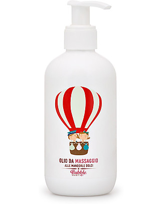 Bubble&CO Sweet Almonds Body Oil 250 ml - For all skin types! Body Lotions And Oils