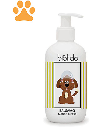 Bubble&CO Animal Conditioner Biofido, 250 ml - Curly Coat Pet Grooming