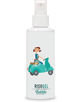Bubble&CO Risogel Baby, 150 ml - Ultra-delicate soap, 100% organic Kit Toilette Baby