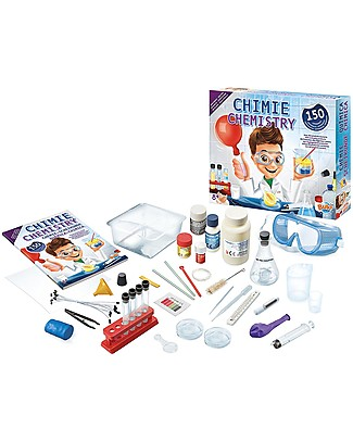 Buki Chemistry Lab - 150 experiments with everyday objects! Science and Nature