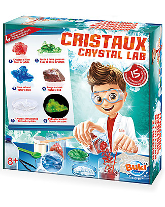 Buki Crystal Lab – Includes 15 Experiments! Science and Nature