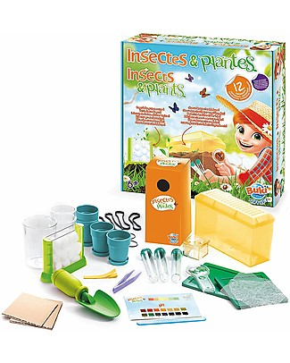 Buki Insects and Plants, 12 experiments to study the nature! STEM toys