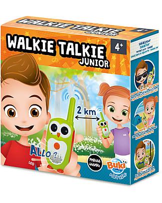 Buki Junior Walkie Talkie - 2 km range! Science and Nature