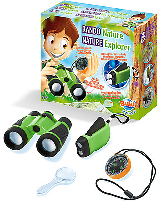 Buki Nature Explorer – Complete with binoculars and compass! Science and Nature