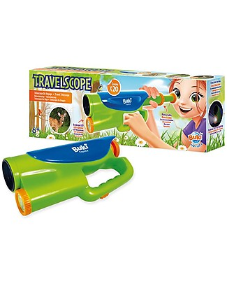 Buki Nature Travelscope with LED light - Magnifies up to 20 Times! STEM toys