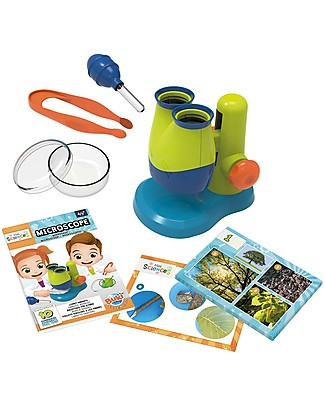 Buki Toy Microscope - 10 Fun experiments included! Science and Nature